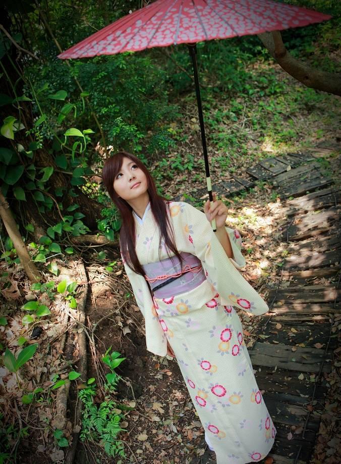 日系可爱和服美女写真(14张)