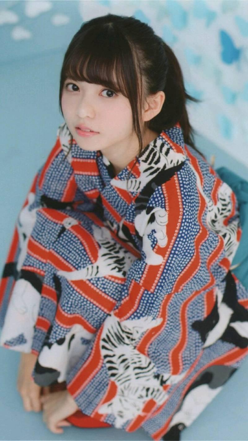 少女斋藤飞鸟和服清纯写真(5张)